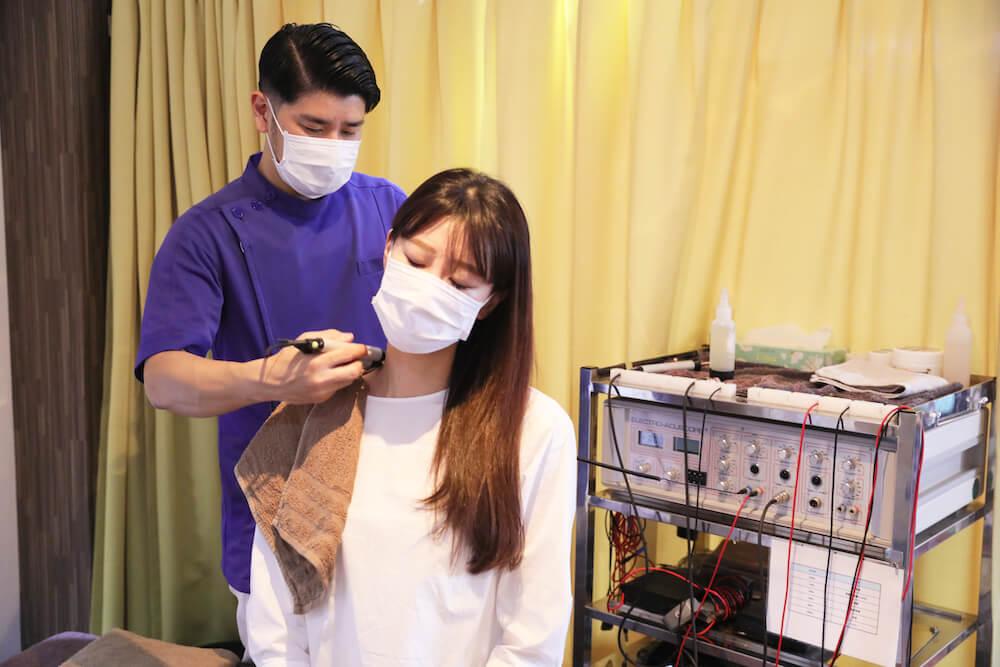 首や肩の痛み・コリの治療