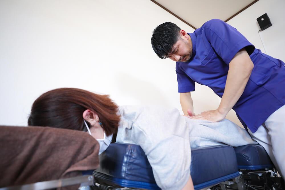 坐骨神経痛(足のシビレと腰痛)の治療