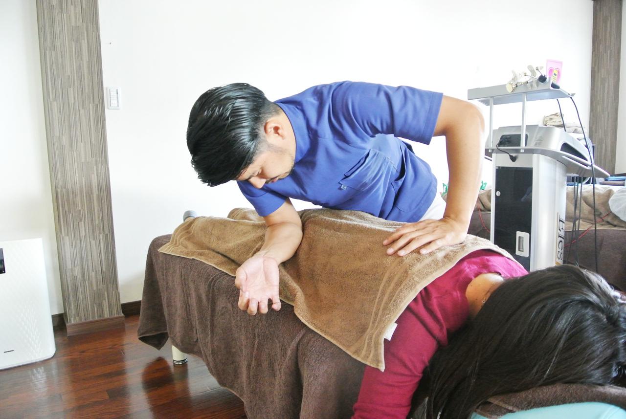 坐骨神経痛(足のシビレと腰痛)